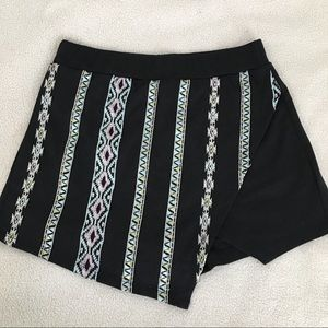 About A Girl Tribal Print Skort